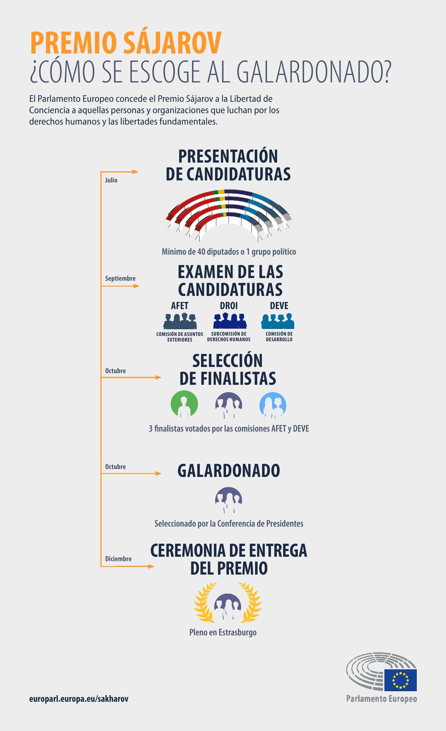 Infografía: ¿Cómo se elige al ganador?