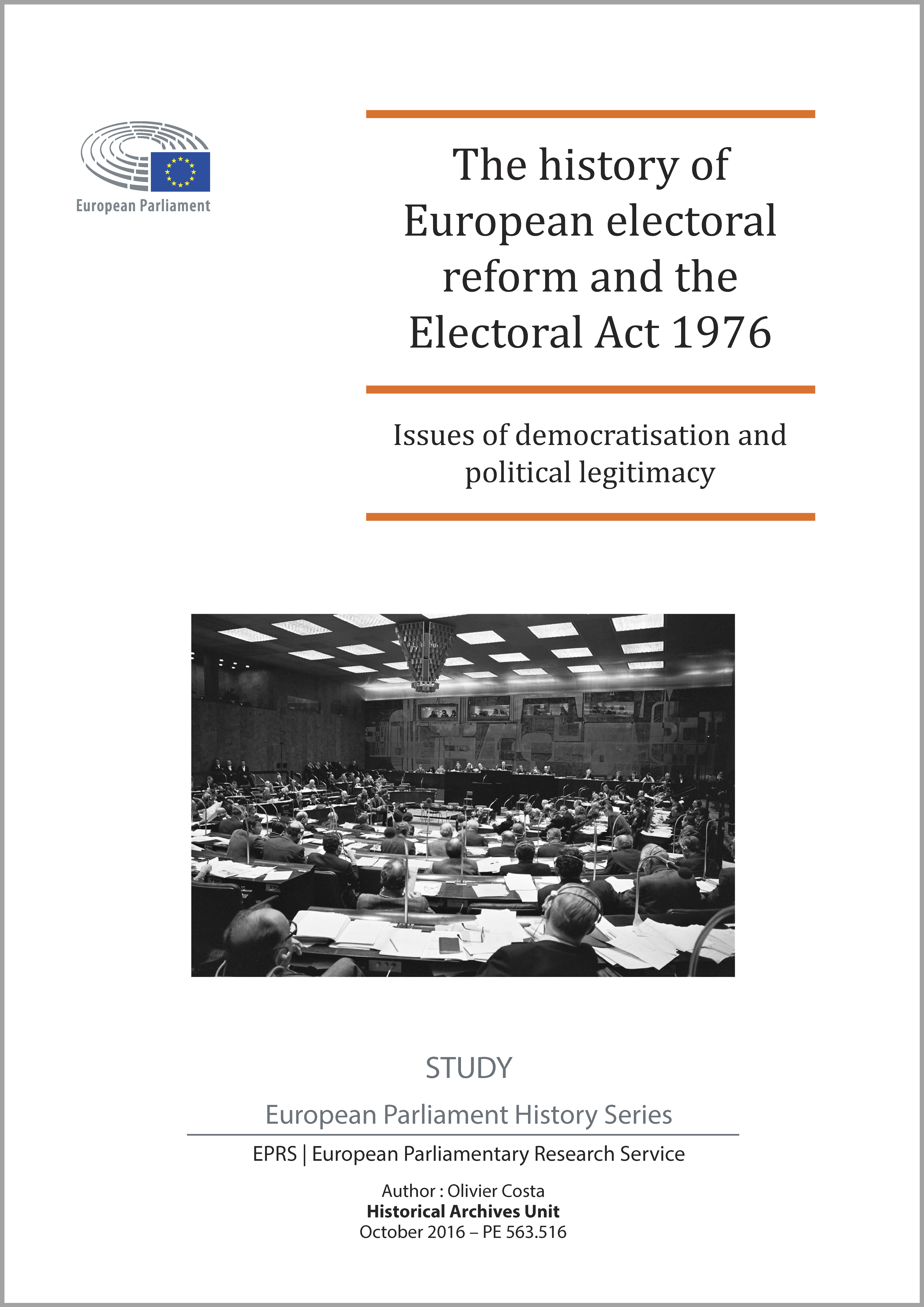 The history of European electoral reform and the Electoral Act