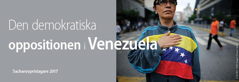 Den demokratiska oppositionen i Venezuela, 2017 års mottagare av Sacharovpriset för tankefrihet