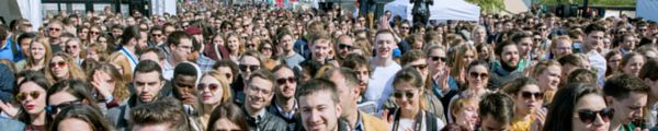 Im letzten Mai öffnete sich das Europäische Parlament in Straßburg 7500 jungen EYE2016