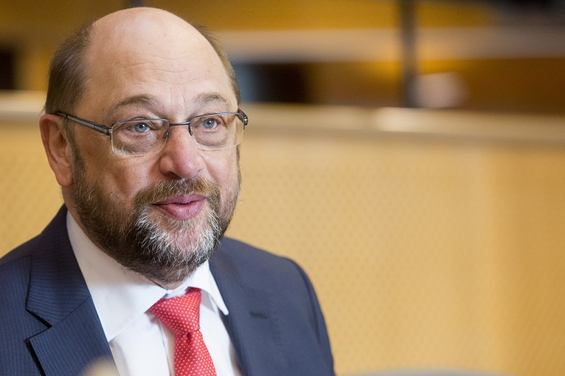 Portrait of Martin Schulz