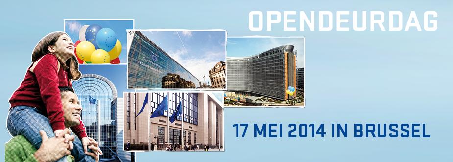 Europees Parlement Brussel Opendeurdag 2014