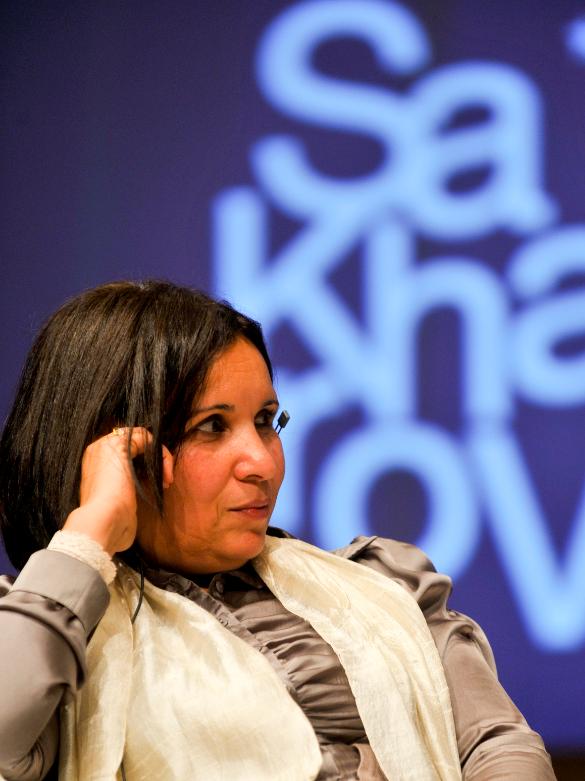 Salima Ghezali 1997 Sakharov Laureate