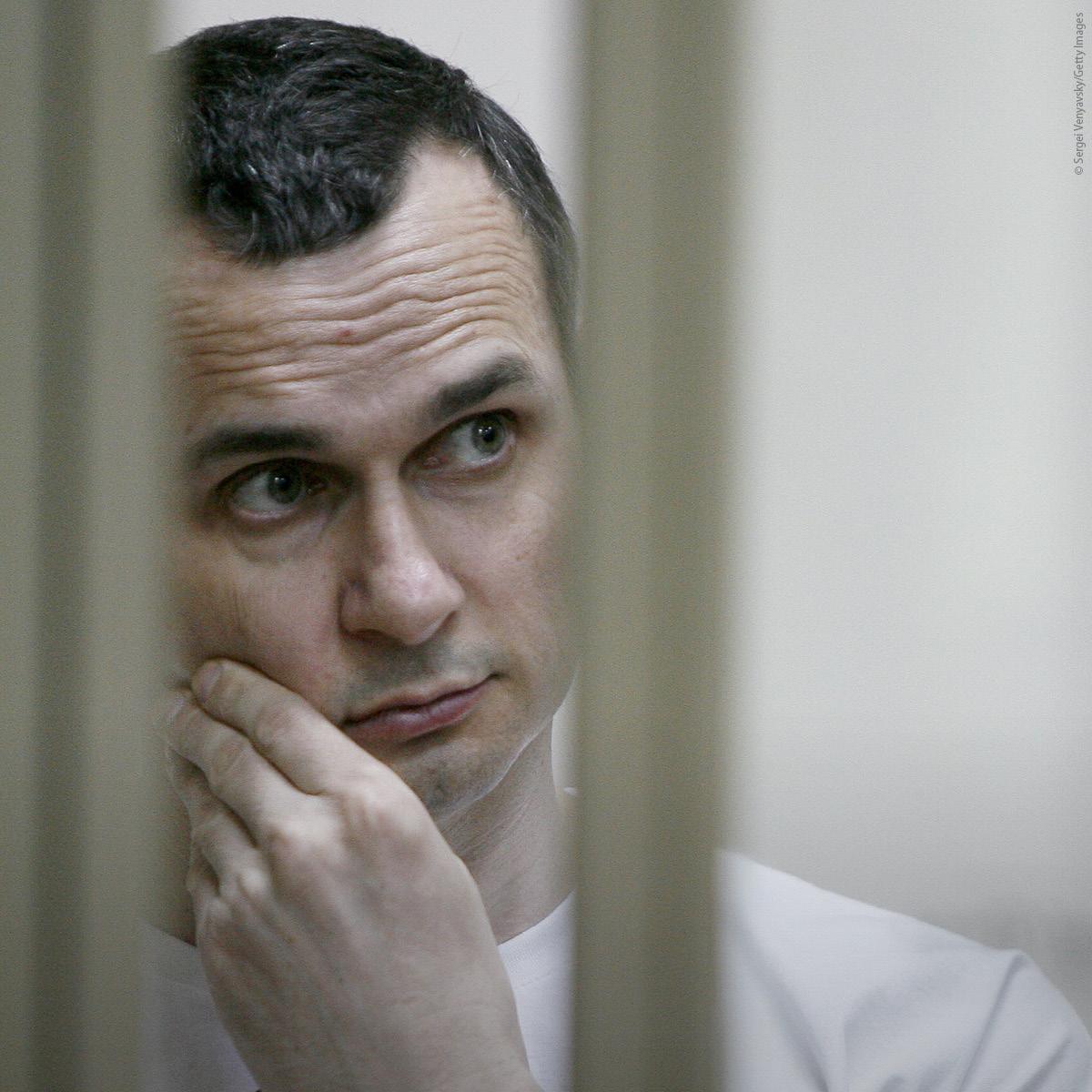 Sakharov Prize 2018 laureate Oleg Sentsov