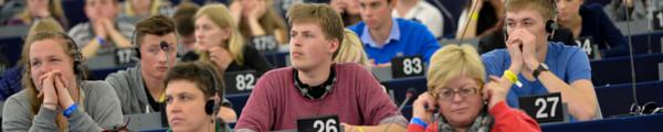 Die Anmeldungen für die nächste Ausgabe des Europäischen Jugendevents