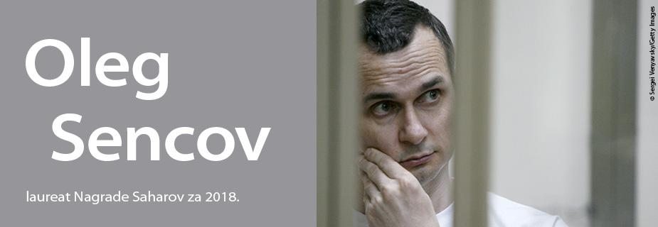 Oleg Sencov, dobitnik Nagrade Saharov za slobodu mišljenja za 2018.