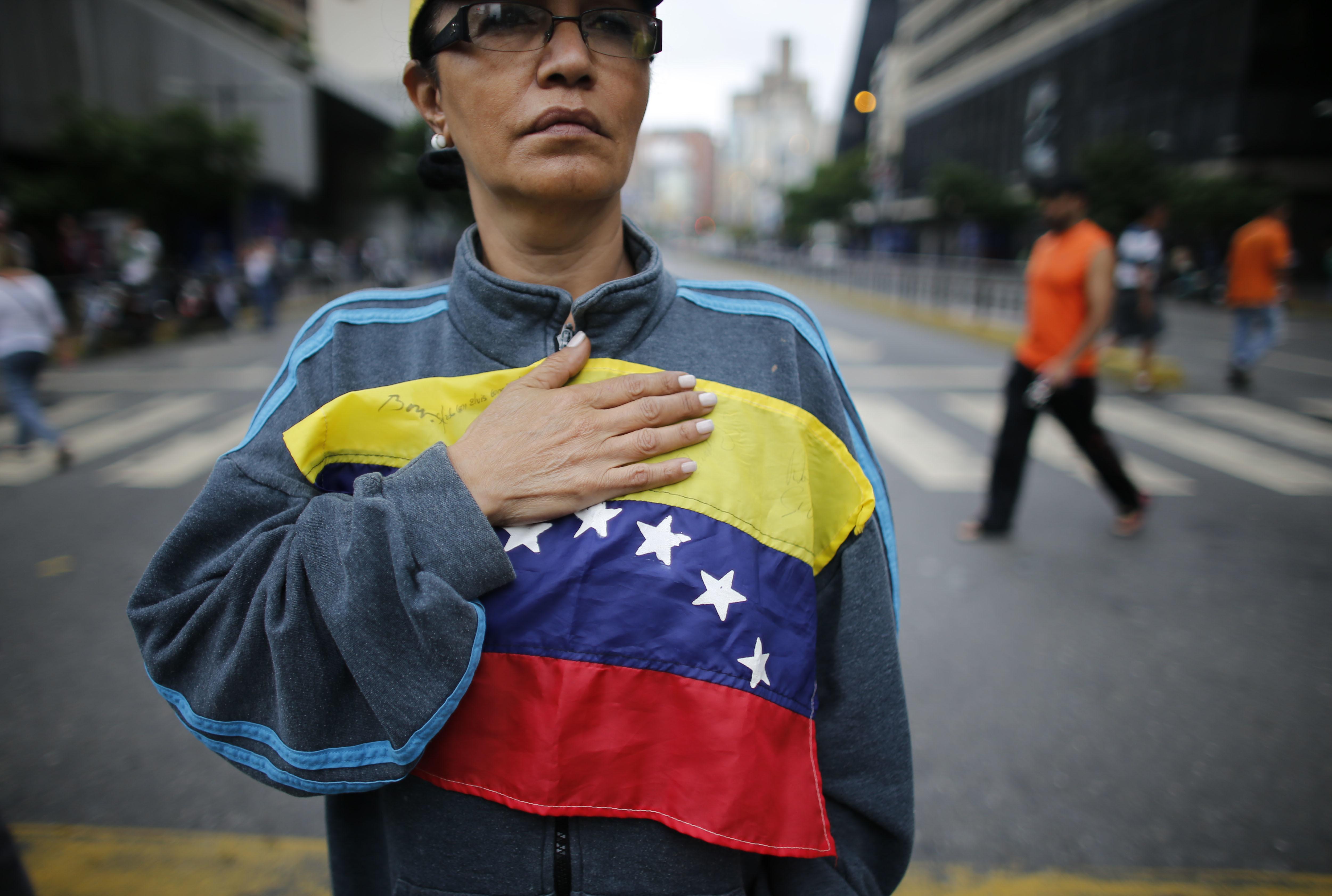 Demokratická opozice ve Venezuele, nositelka Sacharovovy ceny za svobodu myšlení za rok 2017