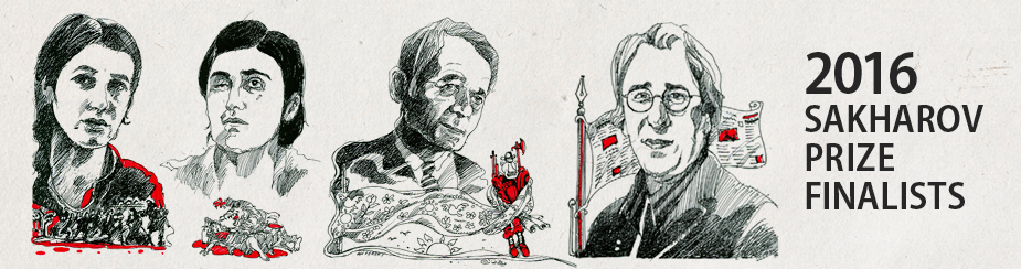 2016 Sakharov Prize finalists