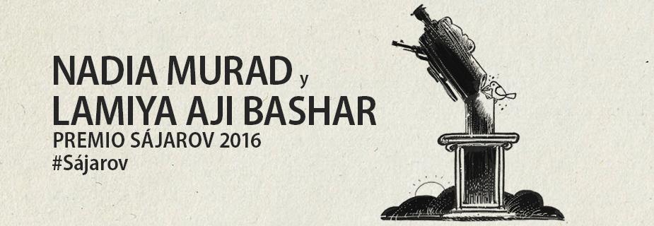 Nadia Murad y Lamiya Aji Bashar, galardonadas con el Premio Sájarov a la Libertad de Conciencia en su edición de 2016