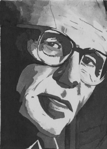 Andrei Sakharov portrait