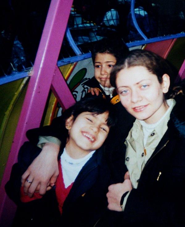 Laura Rawas with Razan Zaitouneh