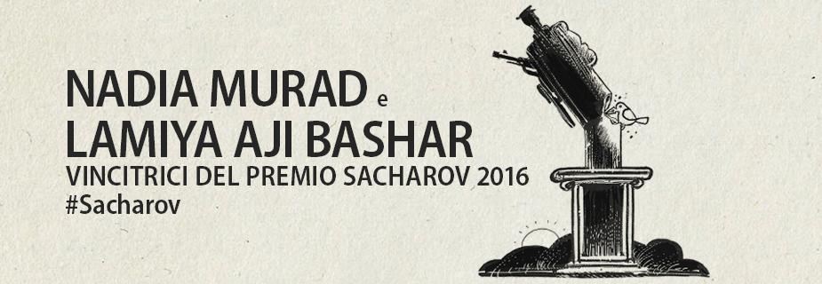 Nadia Murad e Lamiya Aji Bashar, vincitrici del Premio Sacharov per la libertà di pensiero 2016