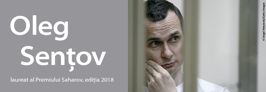 Oleg Sențov, laureat al Premiului Saharov, ediția 2018